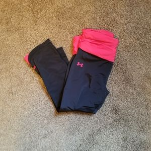 Under armour cropped legging